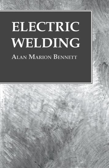 Electric Welding - cover
