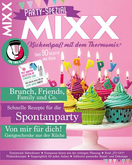 MIXX Party-Spezial - Küchenspaß mit dem Thermomix - cover