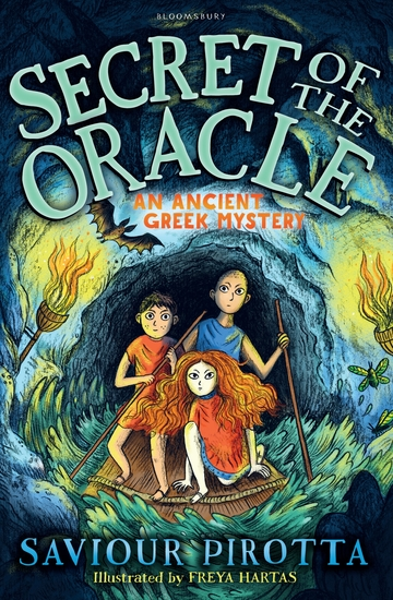 Secret of the Oracle: An Ancient Greek Mystery - cover