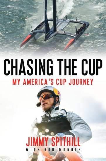 Chasing the Cup - My America's Cup Journey - cover