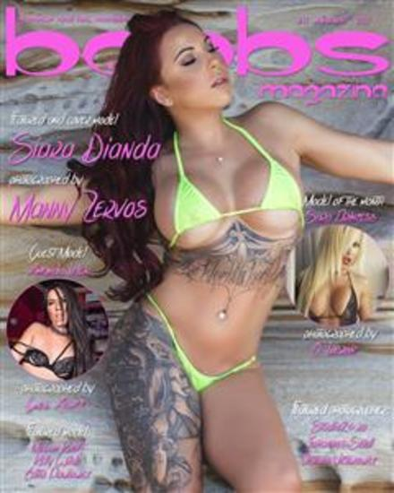 boobsmagazine issue#11 - cover