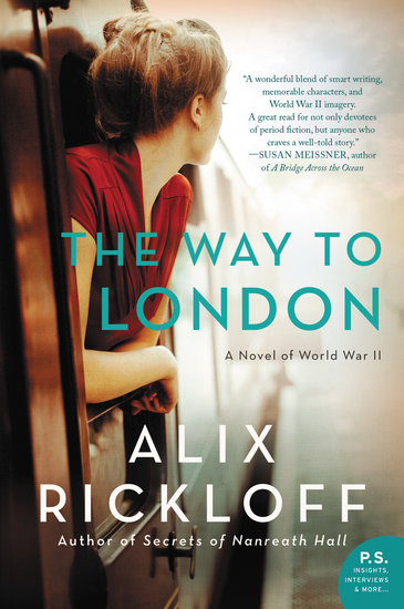 The Way to London - A Novel of World War II - cover