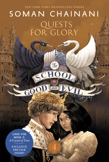 The School for Good and Evil #4: Quests for Glory - cover