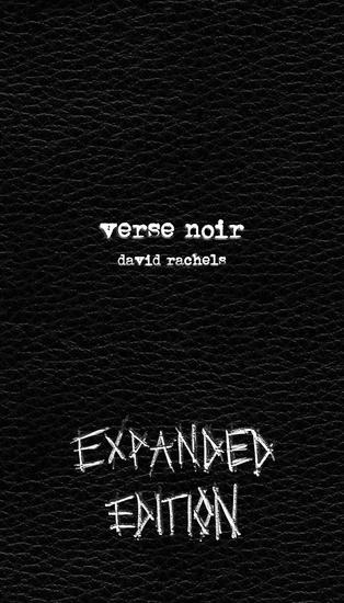 Verse Noir: Expanded Edition - cover