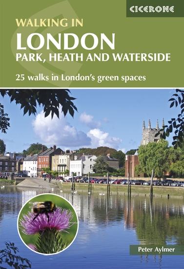 Walking in London - Park heath and waterside walks - 25 walks in London's green spaces - cover