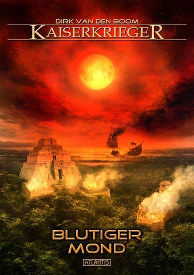 Kaiserkrieger 11: Blutiger Mond - cover