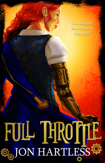 Full Throttle - The Poppy Orpington Chronicles - cover