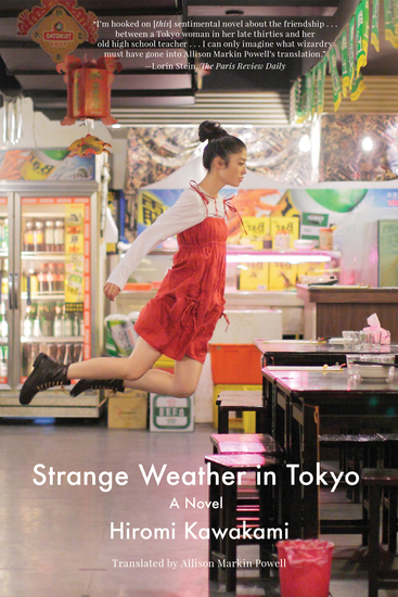 Strange Weather in Tokyo - A Novel - cover