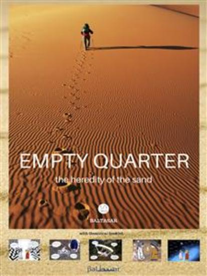 EMPTY QUARTER the heredity of the sand (with theatrical booklet) - cover