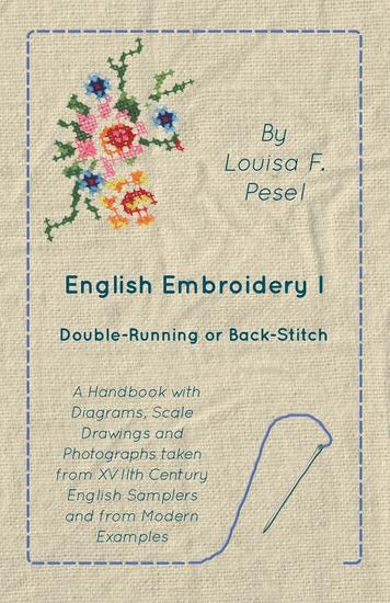 English Embroidery - I - Double-Running or Back-Stitch - cover