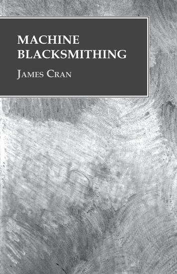 Machine Blacksmithing - cover