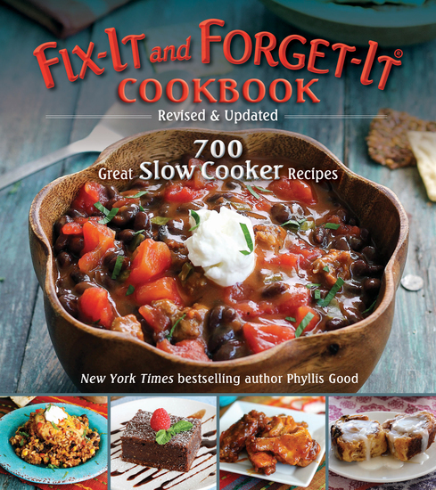 Fix-It and Forget-It Cookbook: Revised & Updated - 700 Great Slow Cooker Recipes - cover