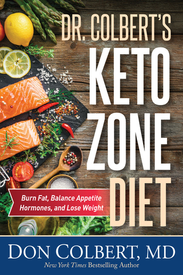 Dr Colbert's Keto Zone Diet - Burn Fat Balance Appetite Hormones and Lose Weight - cover