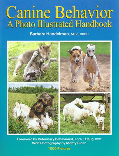 Canine behavior - a photo illustrated handbook - cover