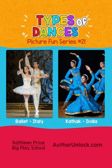 Types of Dances - Picture Fun Series - Picture Fun Series #21 - cover