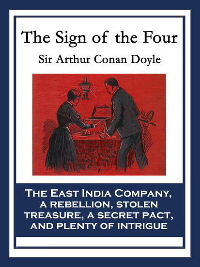 The Sign of the Four - With linked Table of Contents - cover