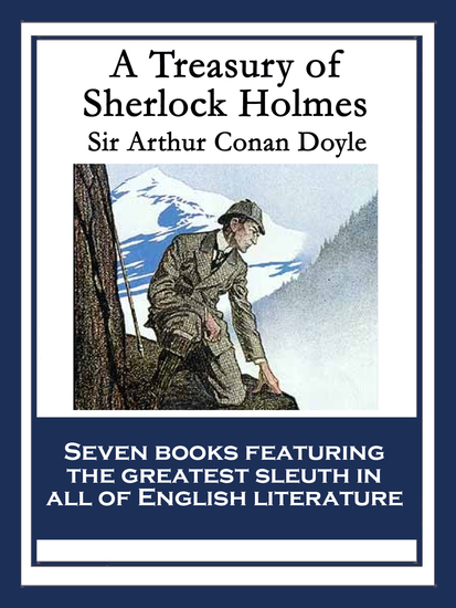 A Treasury of Sherlock Holmes - With linked Table of Contents - cover
