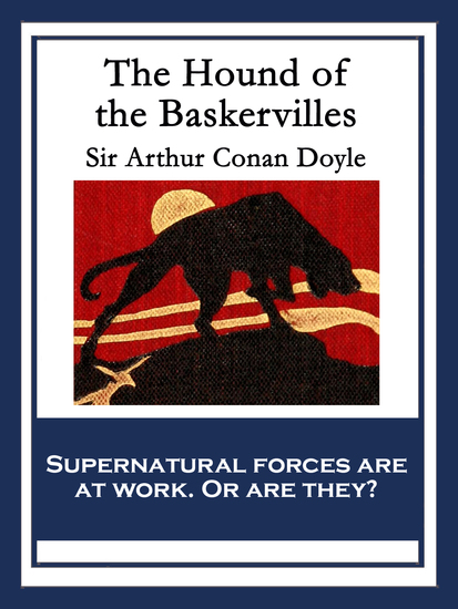 The Hound of the Baskervilles - With linked Table of Contents - cover