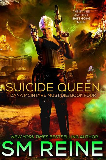 Suicide Queen - Dana McIntyre Must Die #4 - cover