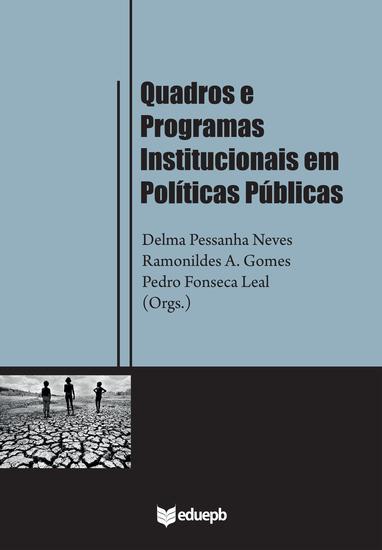 Quadros e programas institucionais em políticas públicas - cover