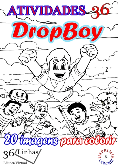 Atividades36 - Dropboy - volume 1 - cover