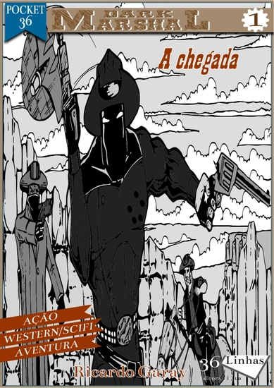 Selo Pocket 36 - Dark Marshal - vol1 - cover