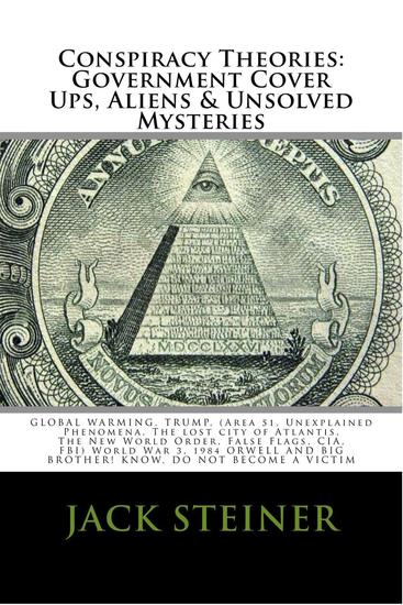 CONSPIRACY THEORIES: GOVERNMENT COVER UPS ALIENS & UNSOLVED MYSTERIES GLOBAL WARMING TRUMP (Area 51 Unexplained Phenomena The lost city of Atlantis The New World Order False Flags CIA - cover