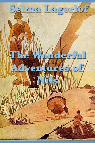The Wonderful Adventures of Nils - cover