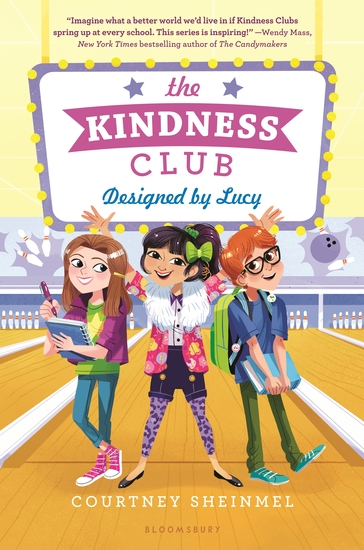 The Kindness Club: Designed by Lucy - cover