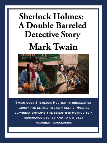 Sherlock Holmes: A Double Barreled Detective Story - cover