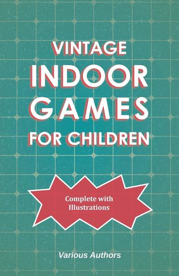 Vintage Indoor Games For Children - cover