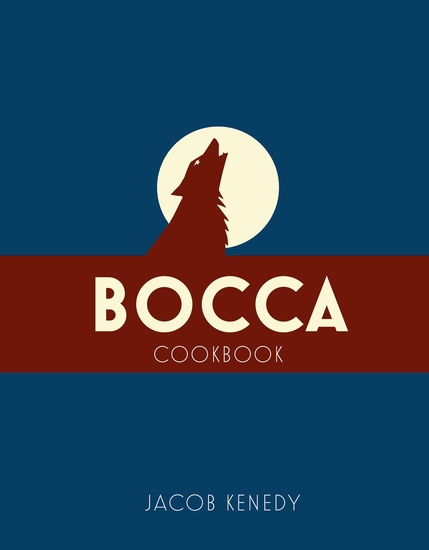 Bocca - Cookbook - cover