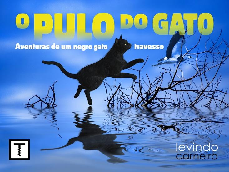 O Pulo do Gato - Aventuras de um gato preto travesso - cover