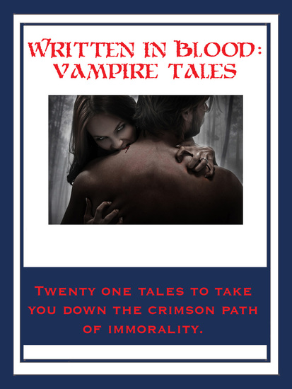 Written In Blood: Vampire Tales - cover