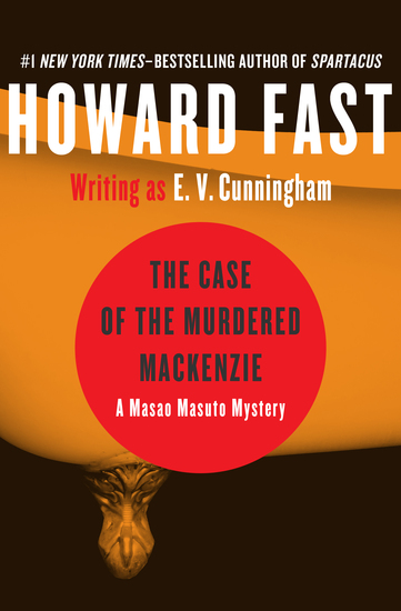The Case of the Murdered Mackenzie - cover