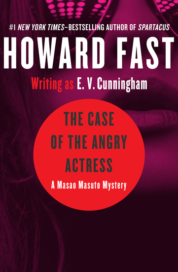 The Case of the Angry Actress - cover
