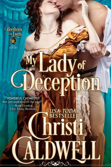 My Lady of Deception - The Brethren of the Lords #1 - cover