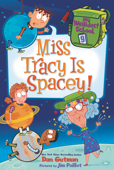 My Weirdest School #9: Miss Tracy Is Spacey! - cover