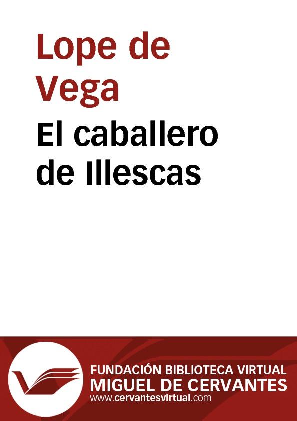 El caballero de Illescas - cover