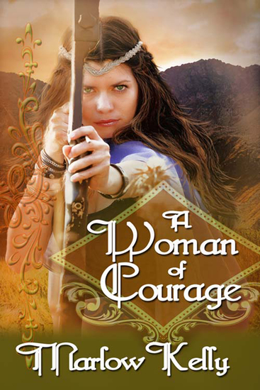 A Woman of Courage - cover