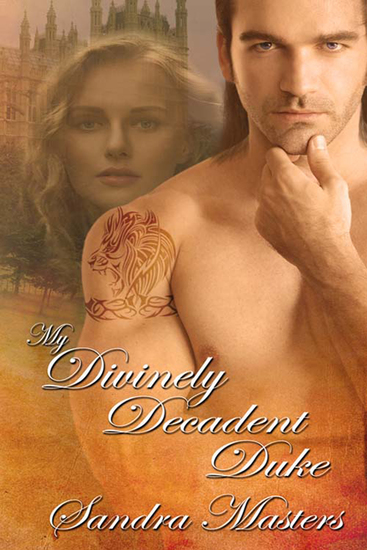 My Divinely Decadent Duke - cover