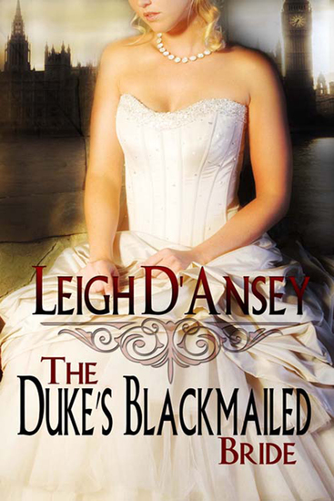 The Duke's Blackmailed Bride - cover