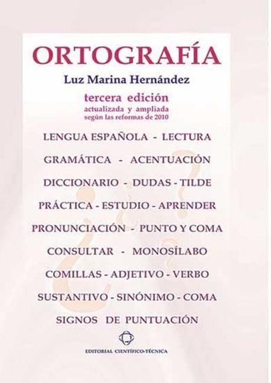 Ortografía - cover