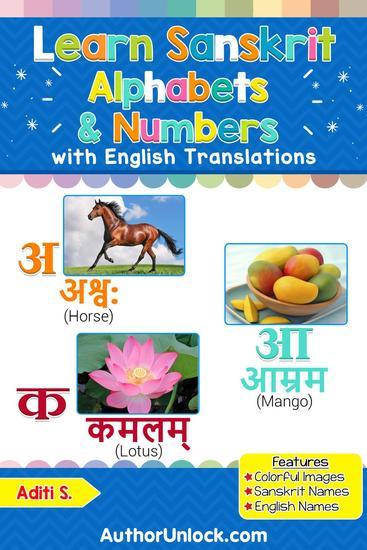 Learn Sanskrit Alphabets & Numbers - Sanskrit for Kids #1 - cover