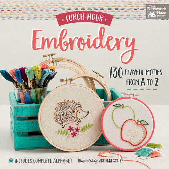 Lunch-Hour Embroidery - 130 Playful Motifs from A to Z - cover