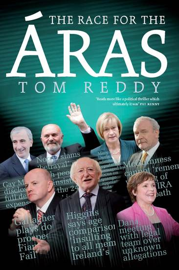 The Race for the Áras 2012 - Presedential Election 2012 - cover
