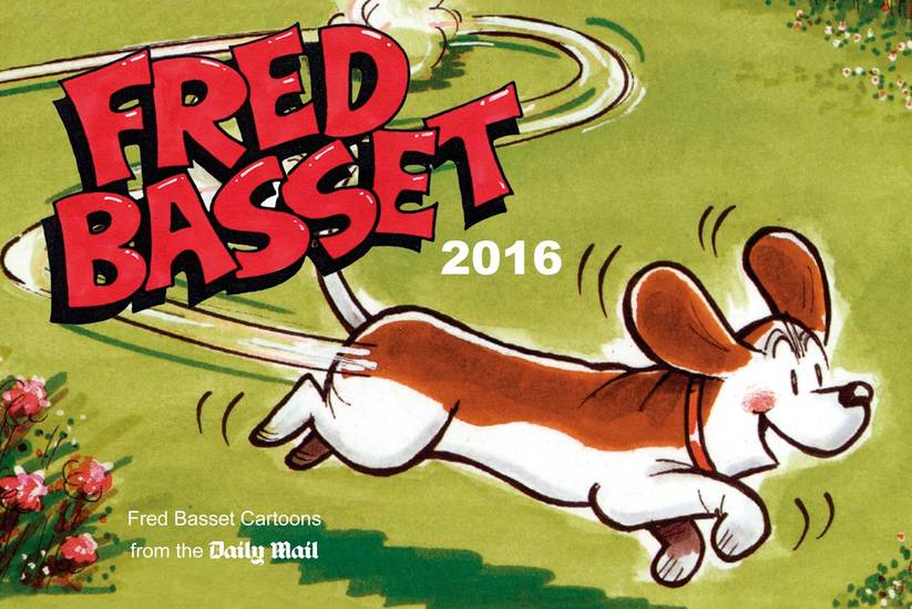 Fred Basset Yearbook 2016 - cover