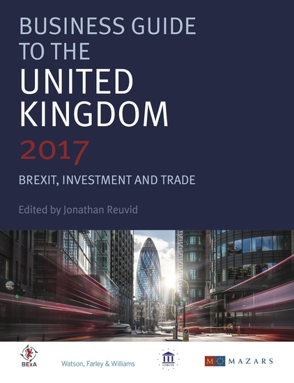 Business Guide to the United Kingdom - Brexit Investment and Trade - cover