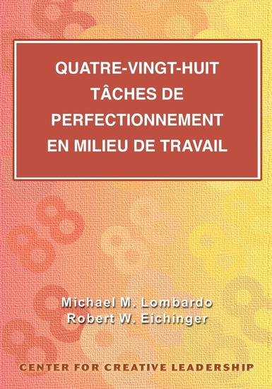 Eighty-Eight Assignments for Development in Place (French Canadian) - cover