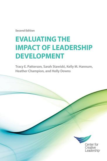 Evaluating the Impact of Leadership Development - 2nd Edition - cover
